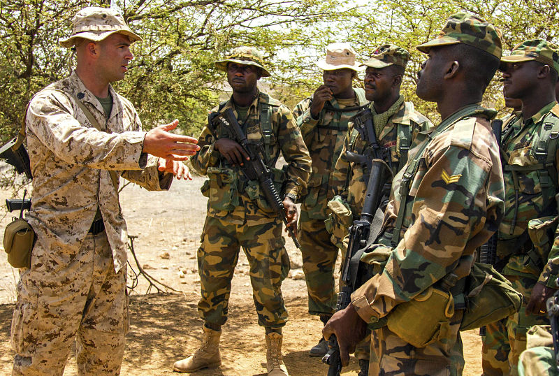 Militarization of US Africa Policy